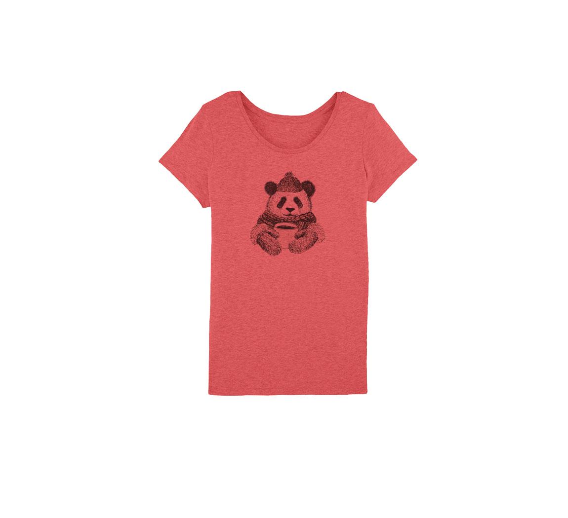 T shirt femme panda  T shirt Panda