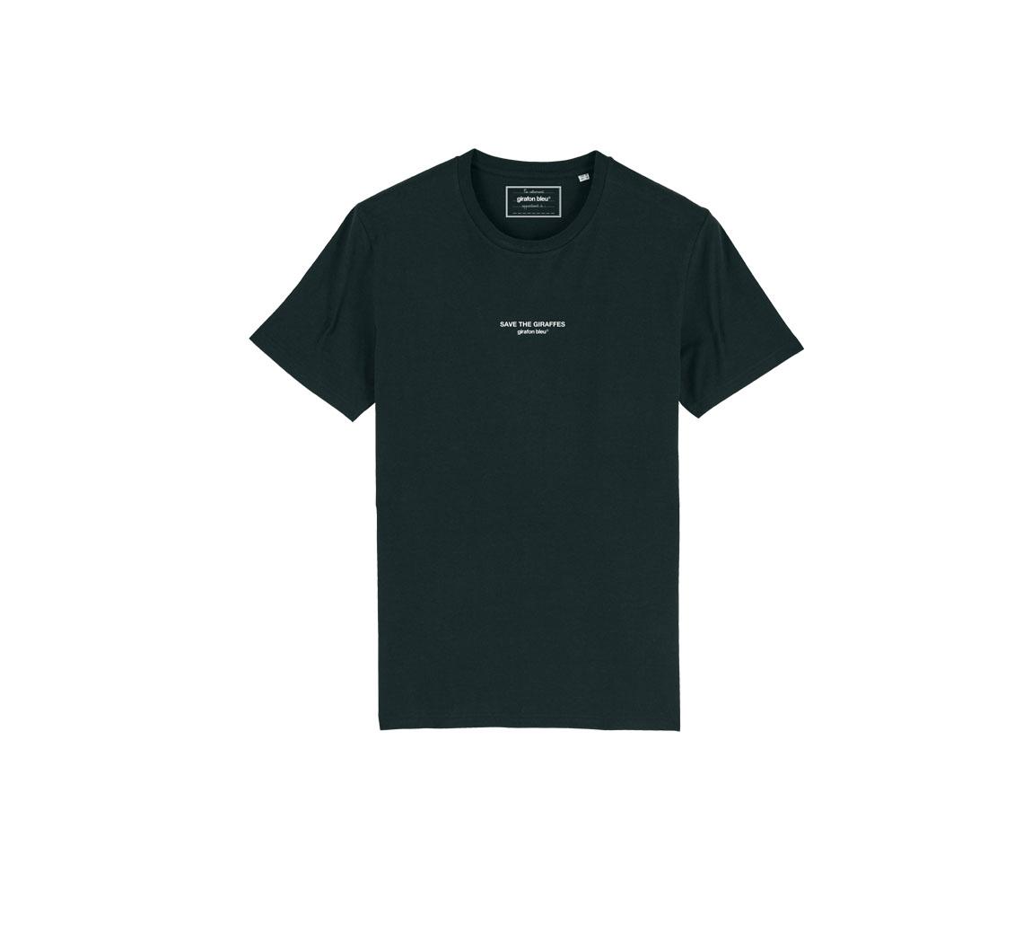 T shirt homme bleu marine Tee shirt Girafon Bleu