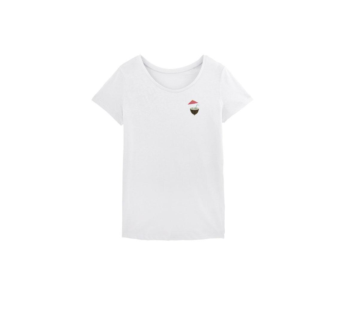 T-shirt femme coton bio T-shirt Basique
