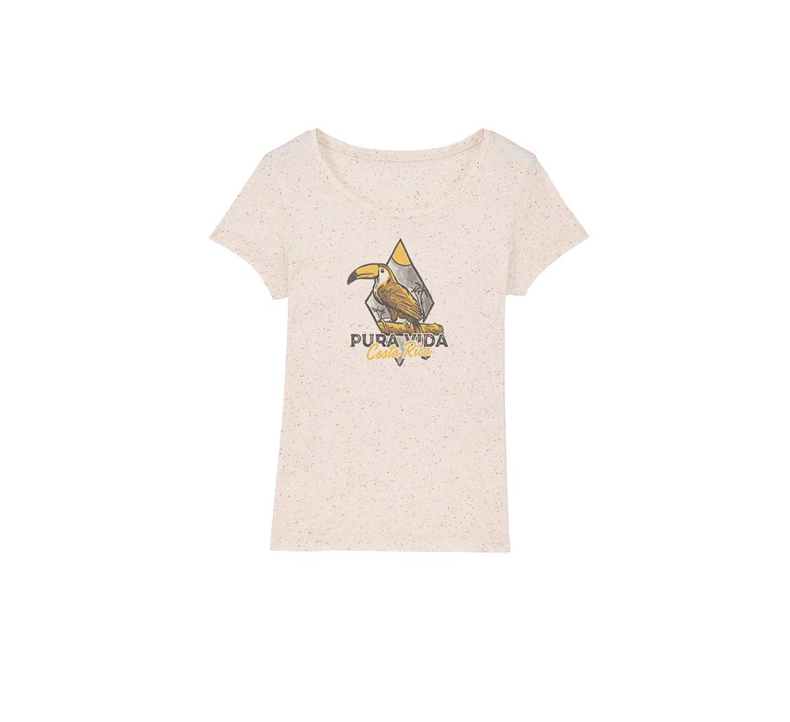 T shirt femme coton biologique Basic t-shirt