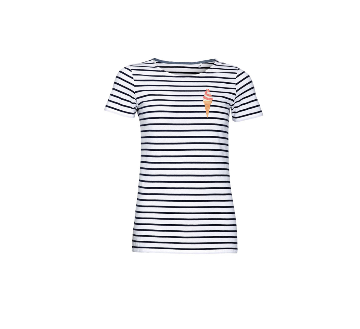T shirt marinière femme Women's Stripes Tee  Women's Stripes Tee