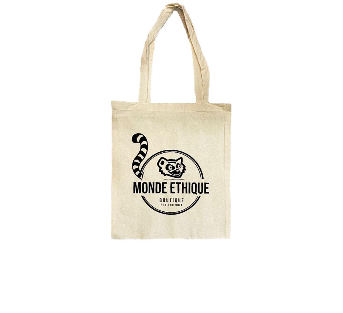 Cabas en coton recyclé Monde éthique Tote Bag Monde Ethique by EPH