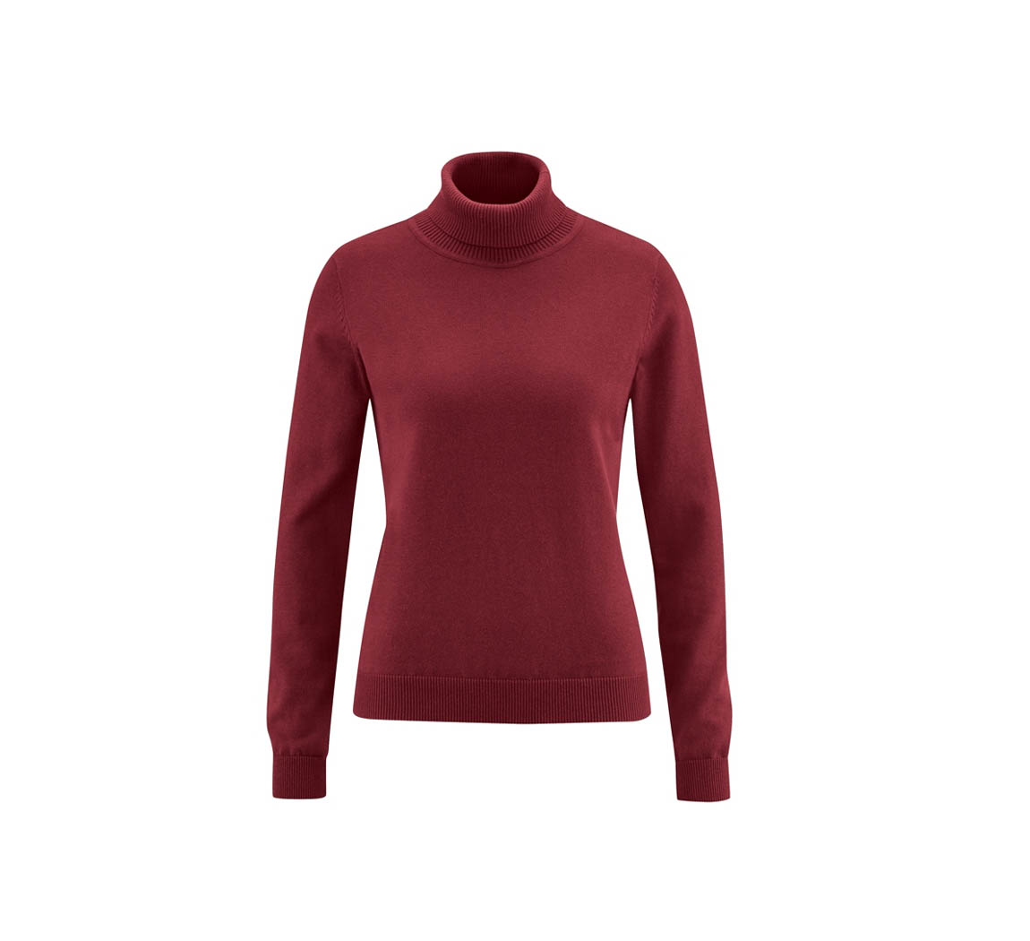 Pull femme à col roulé  Pull over turtle neck