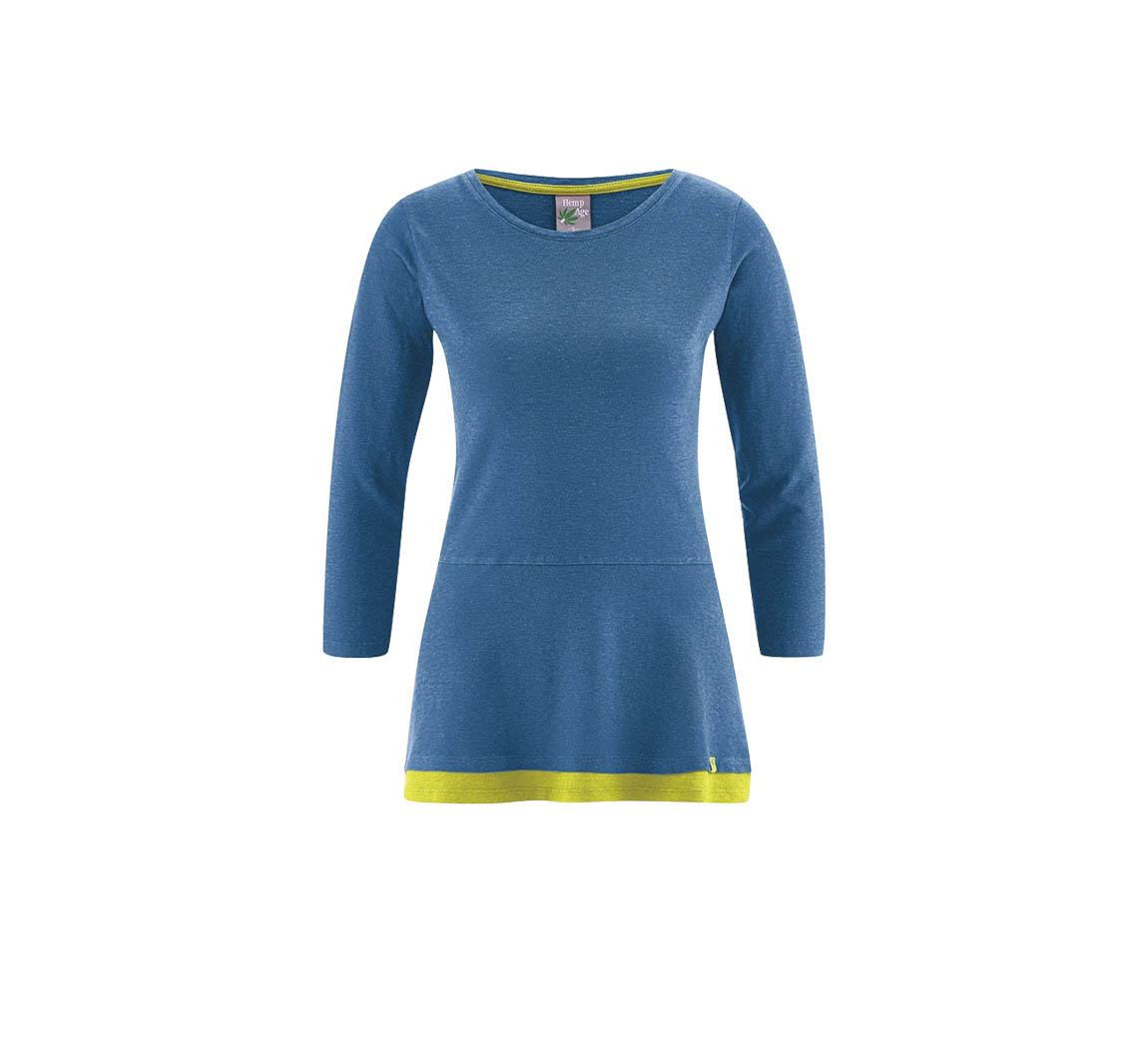 Vêtement femme en chanvre Long shirt Ida