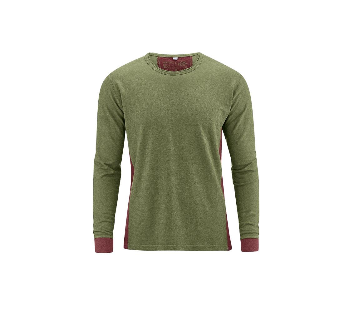 T-shirt manches longues en chanvre  Longshirt Joseph