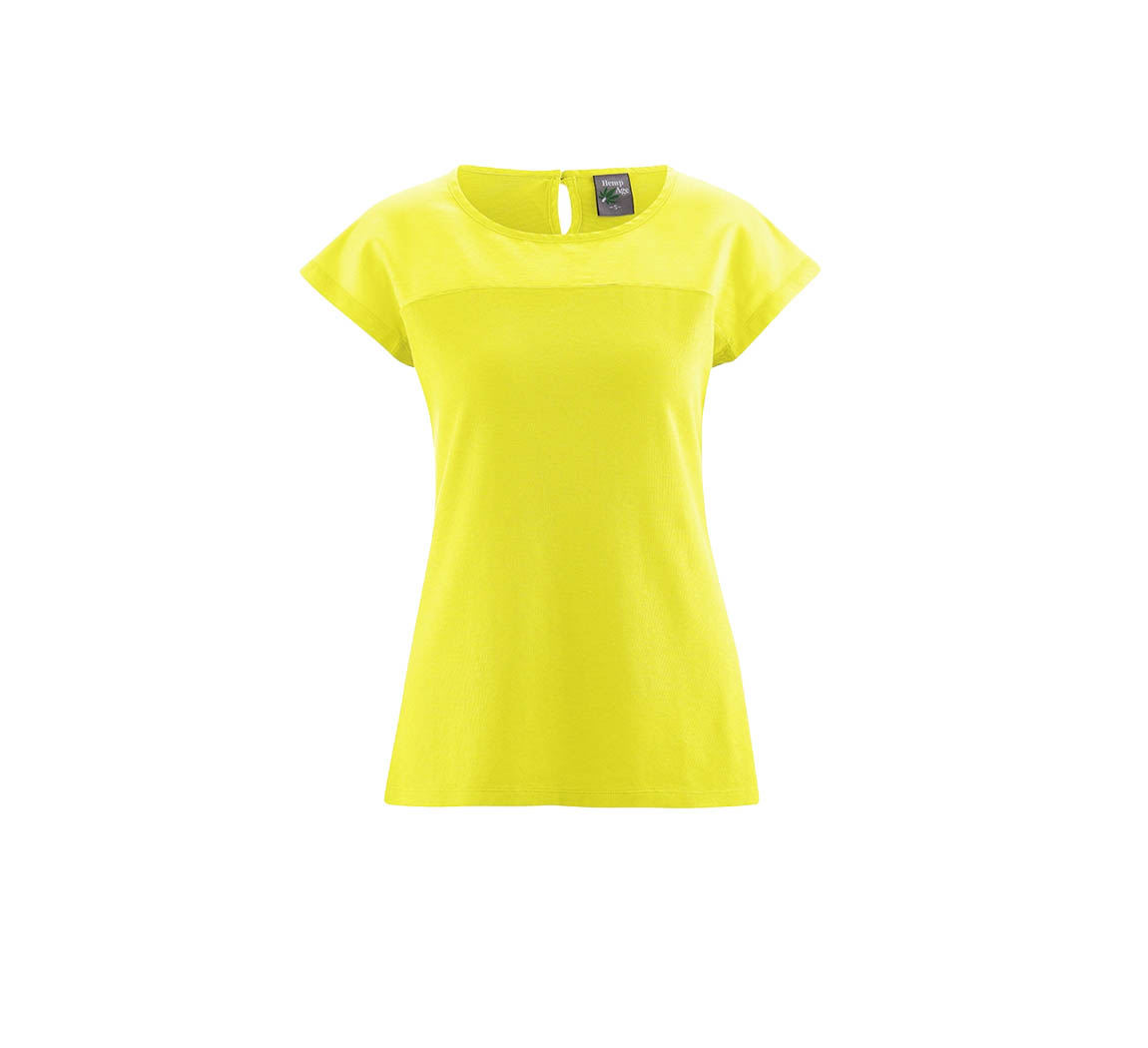 T-shirt femme chanvre et soie T-shirt Audry
