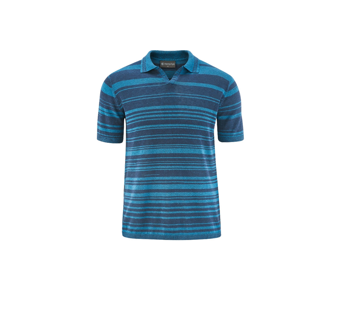 Polo homme fantaisie Knitted Poloshirt