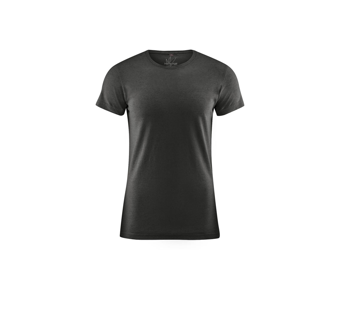 T shirt homme uni vegan Round Neck T-shirt