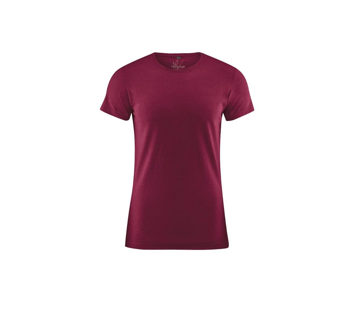T shirt homme uni vegan Round Neck T-shirt