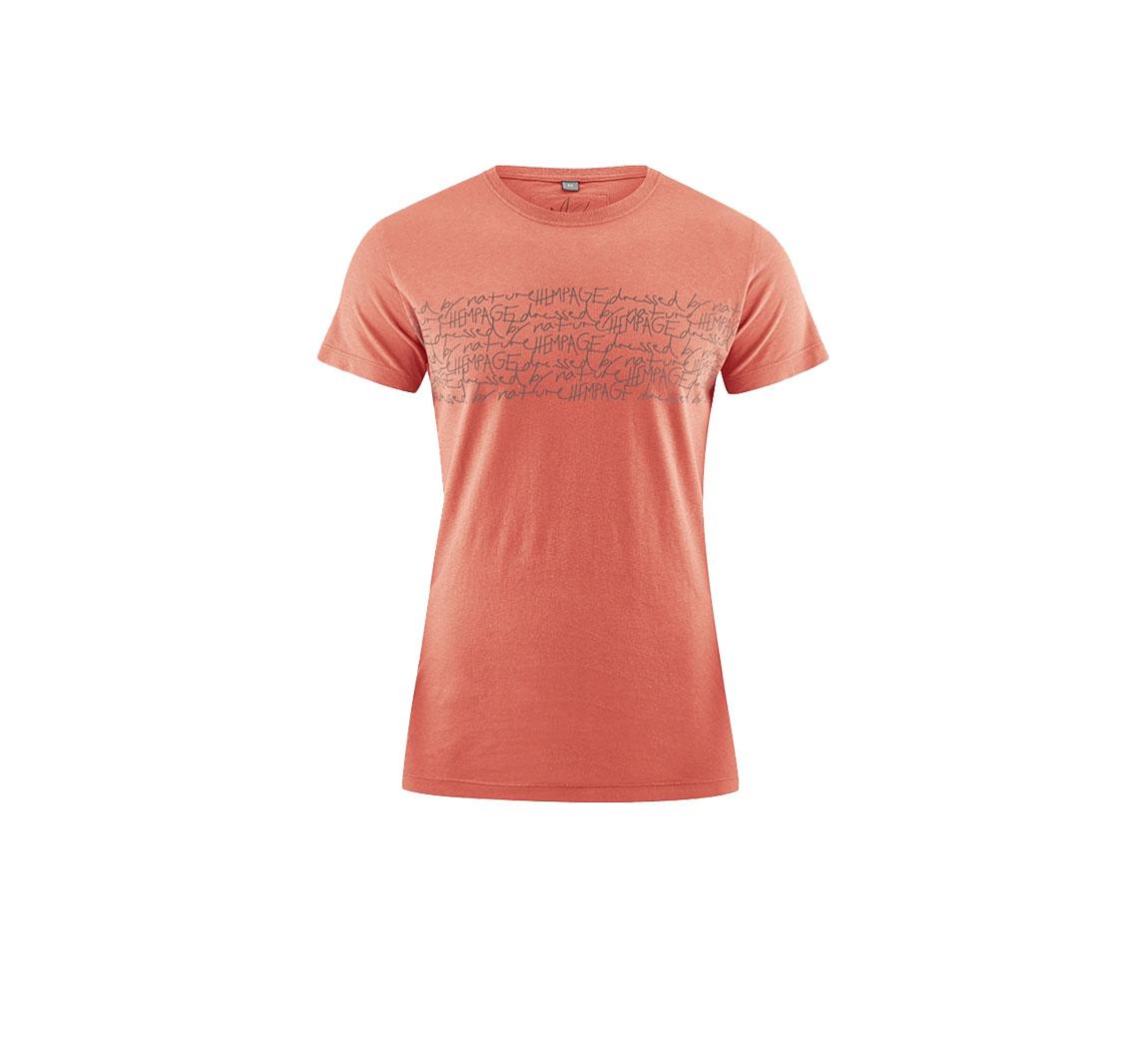 T-shirt Typo en Chanvre T-shirt Typo