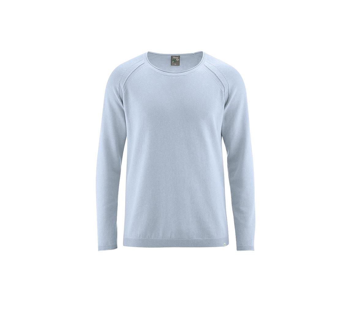 Pull homme en chanvre Pullover tricoté