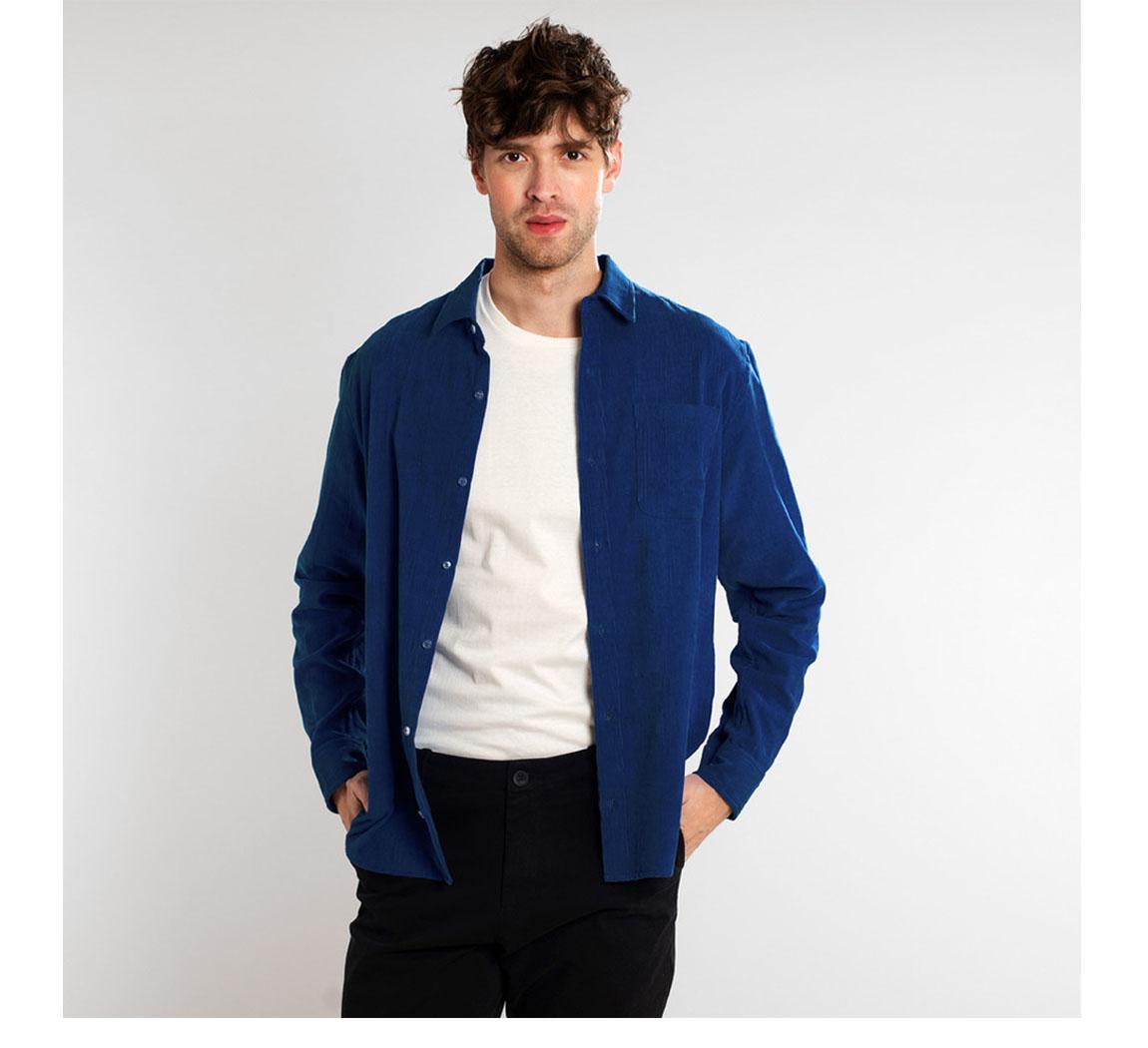 chemise homme coton bio Shirt Varberg