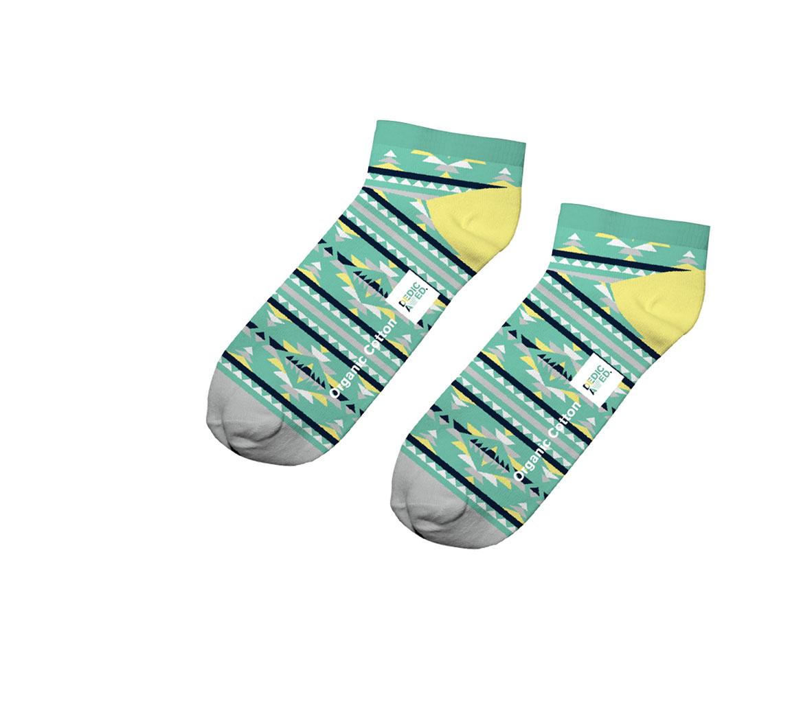 Mini chaussettes en coton bio Chaussettes basses