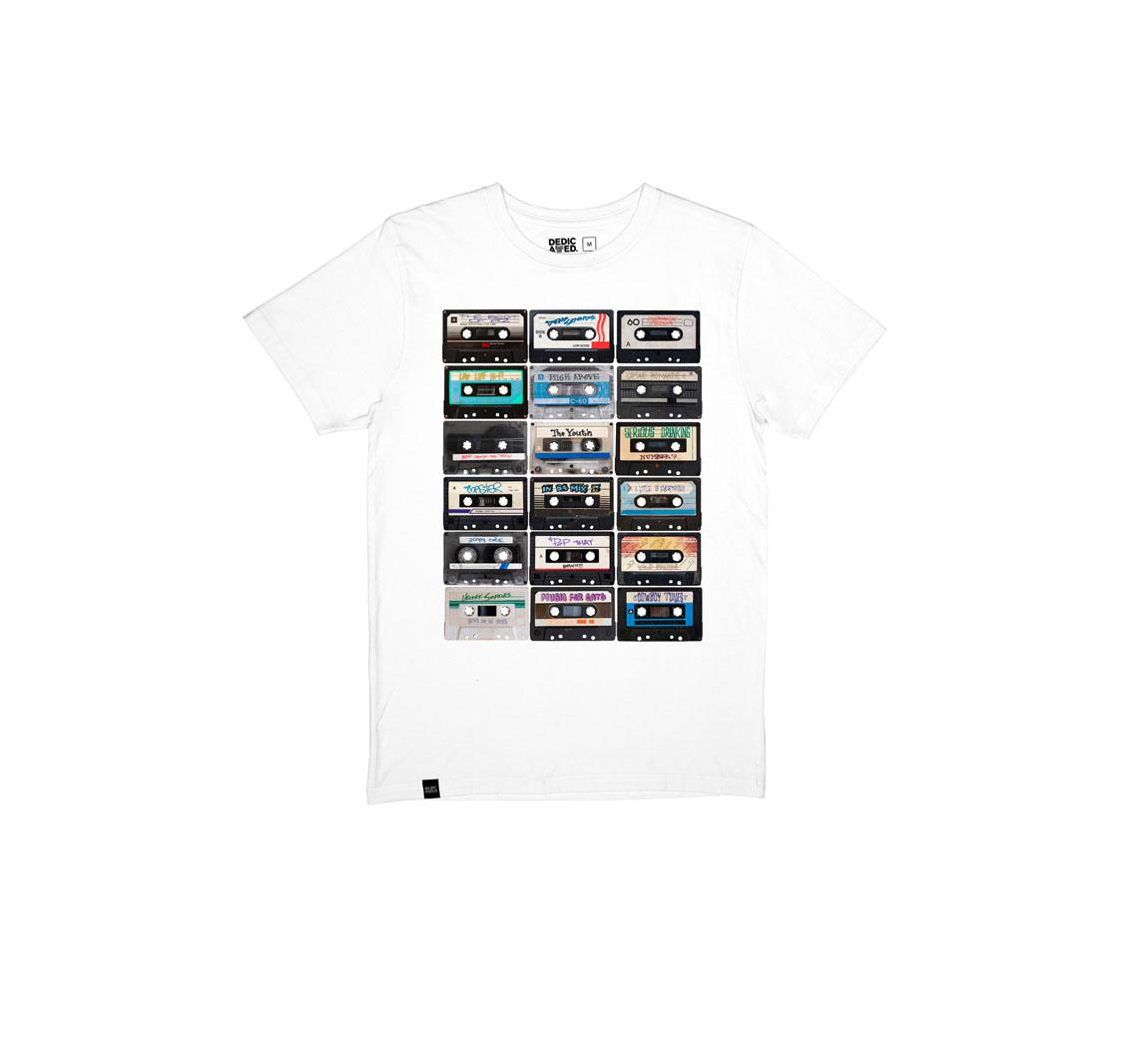 T-shirt Dedicated en coton bio T-shirt H Dedicated
