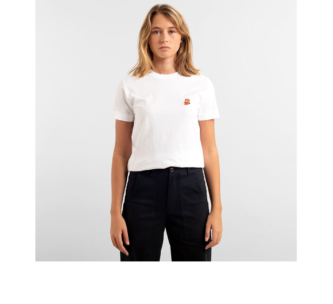 T shirt femme avec broderie T shirt Mysen