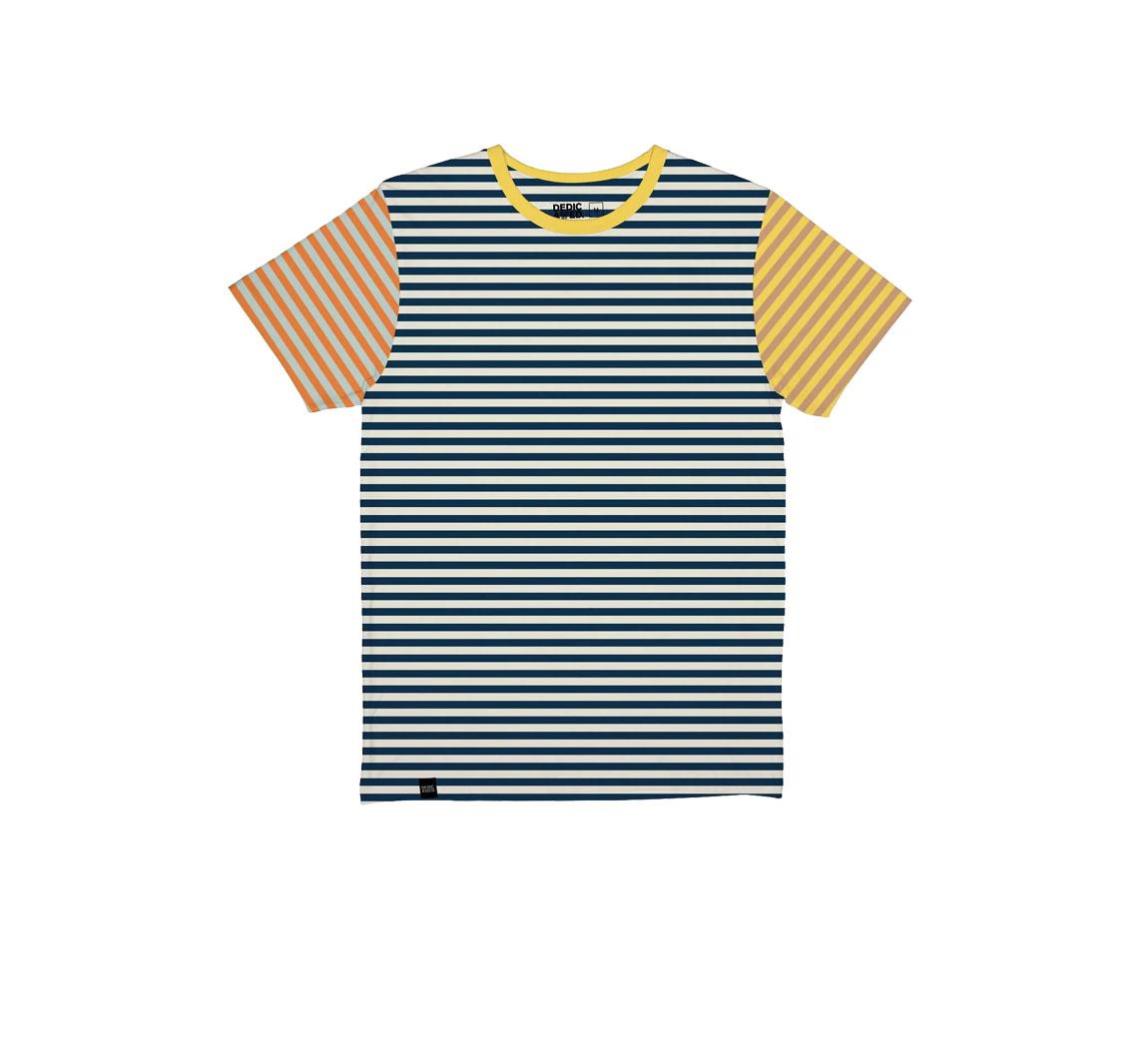 T-shirt homme en coton bio T-shirt Stockholm Jacquard