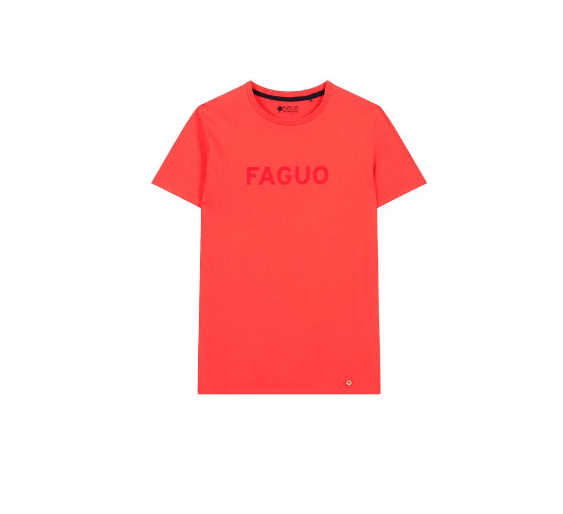 T-shirt faguo en coton Arcy F